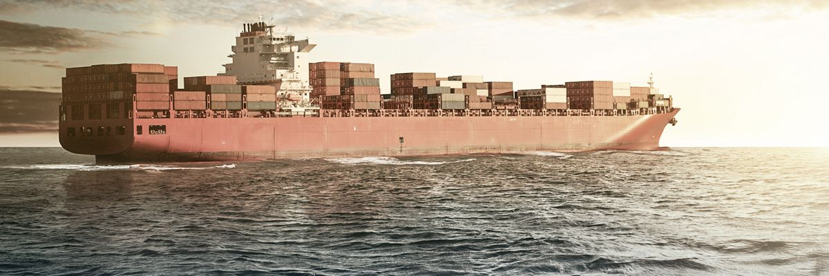 Cable protection and routing for container vessels and freighters